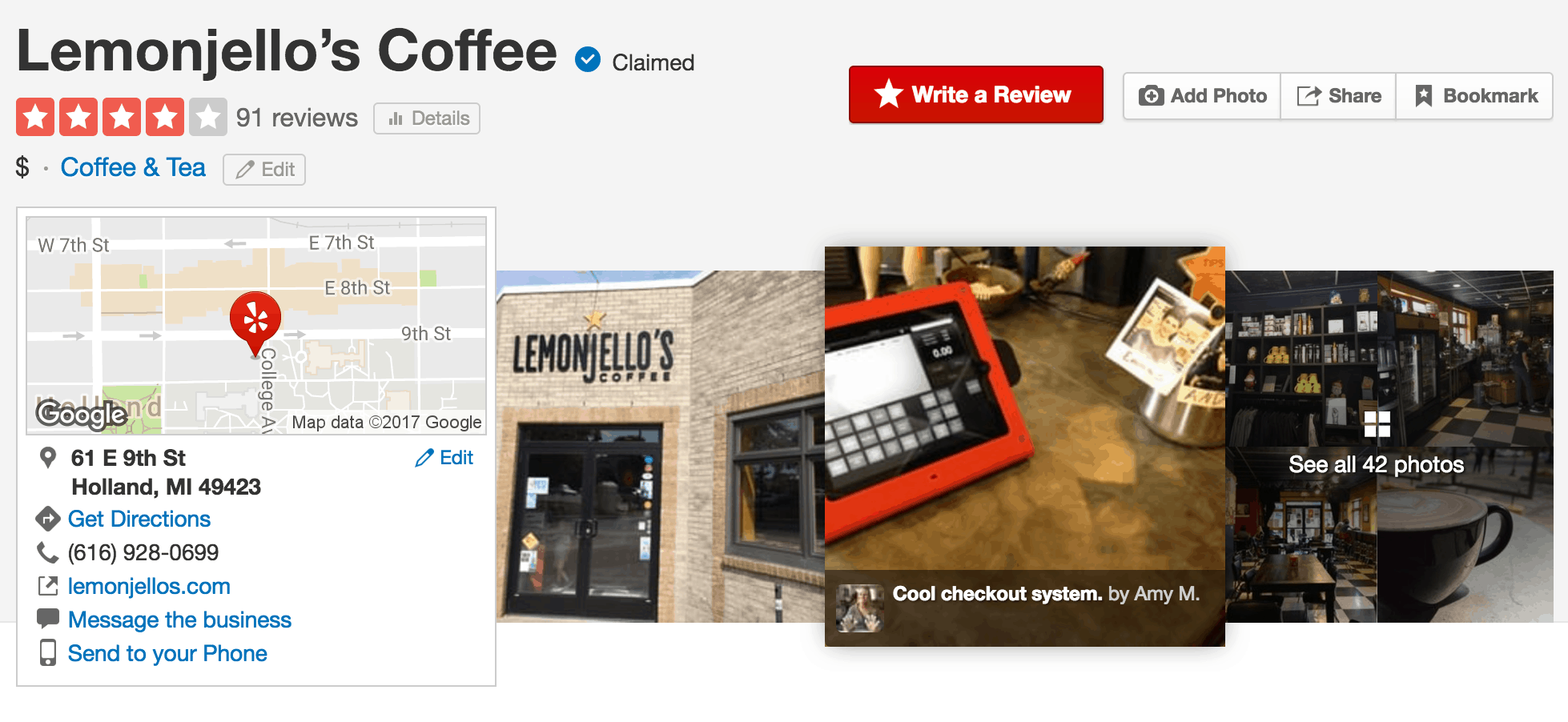 Yelp social media marketing for restaurants