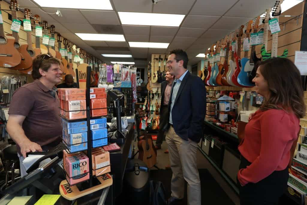 Alexandria Music Co Noah Breslow Summer of Small Business