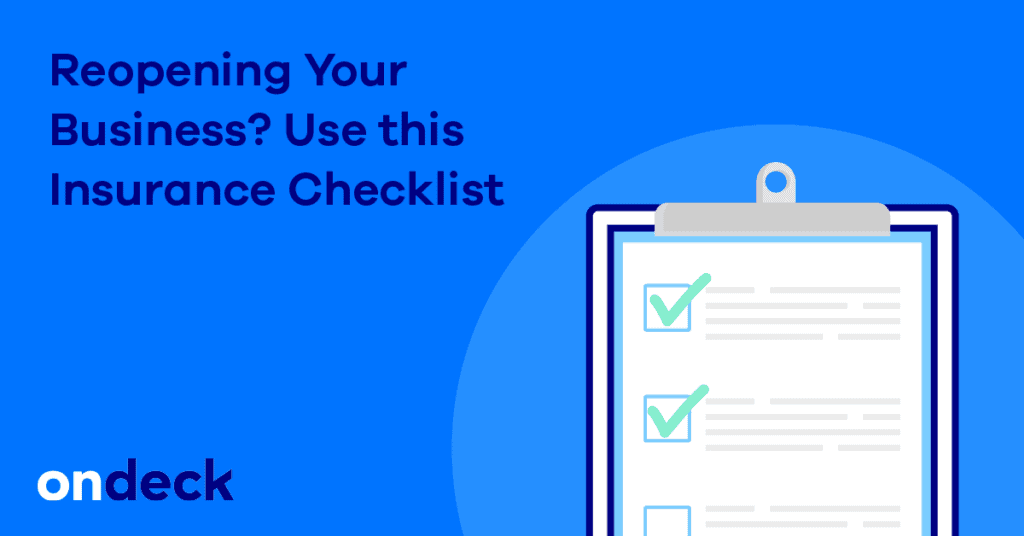Insurance Checklist